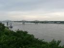 Natchez-Vidalia-Brücke bei Natchez, Mississippi